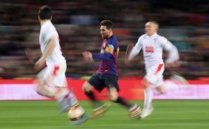 Las mejores jugadas del partido entre el Barcelona y el Eibar