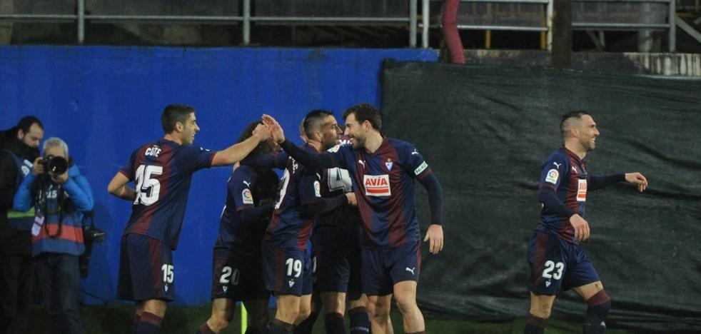 El Eibar está invicto en el inicio de la segunda vuelta con dos victorias y un empate