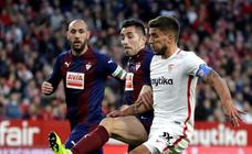 Sevilla-Eibar, en imágenes