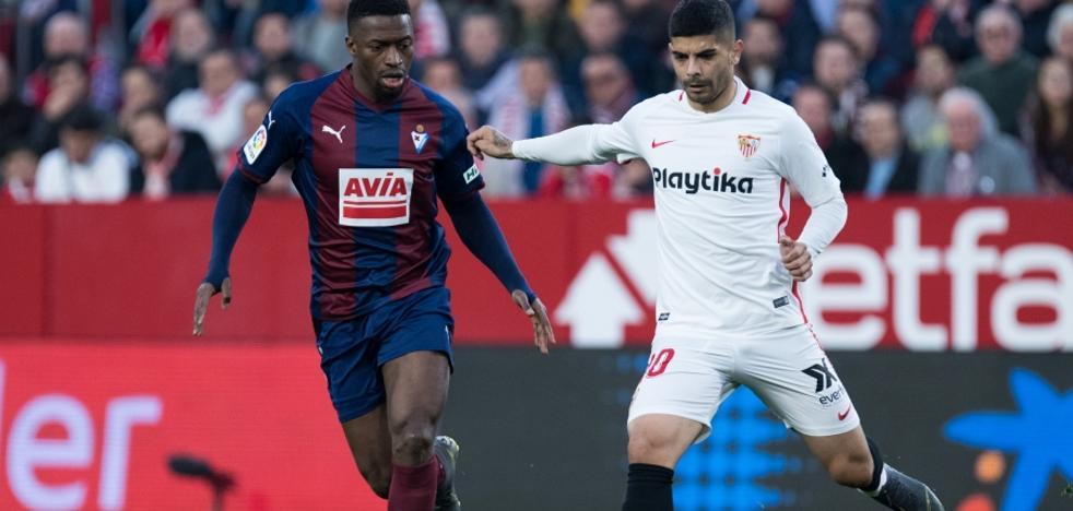 El uno a uno del Eibar ante el Sevilla