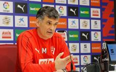 Mendilibar: «Si ganamos al Valladolid nos quedamos un año más»