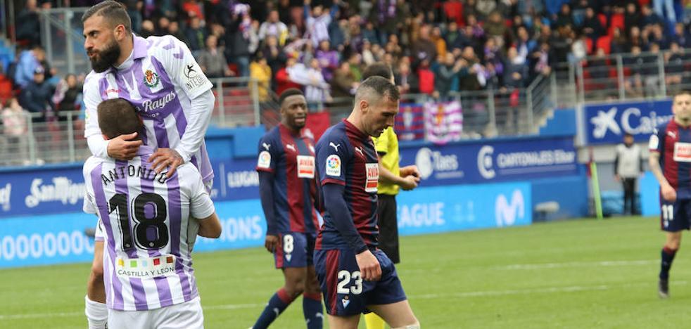 El Eibar se deja remontar en los últimos minutos