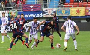 Uno a uno del Eibar ante el Valladolid
