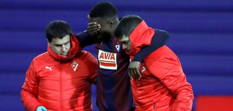 Diop será baja en el Bernabéu