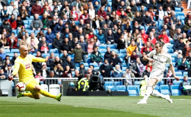 Real Madrid- Eibar, en imágenes