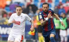 Rubén Peña, otra baja más para la defensa del Eibar ante la Real