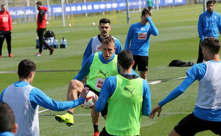 El Eibar se prepara de cara al derbi ante la Real Sociedad