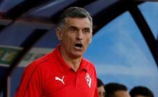 Mendilibar: «He echado la bronca a mis jugadores»