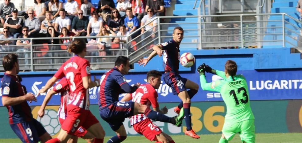 Uno a uno de los jugadores del Eibar ante el Atlético de Madrid