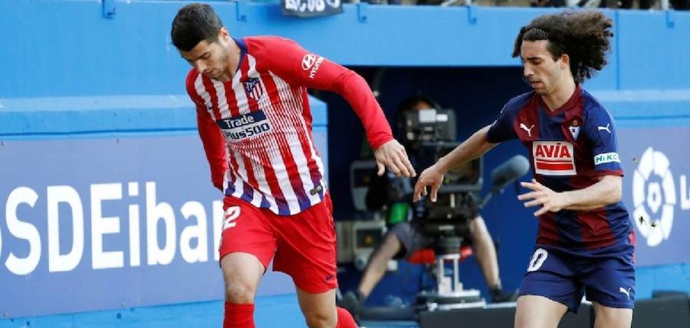 Hizo trabajar al Atlético
