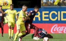 El uno a uno de los jugadores del Eibar frente la Villarreal