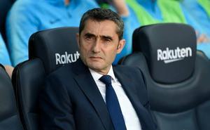 Valverde resalta el papel de Mendilibar en la evolución de Cucurella y Cardona