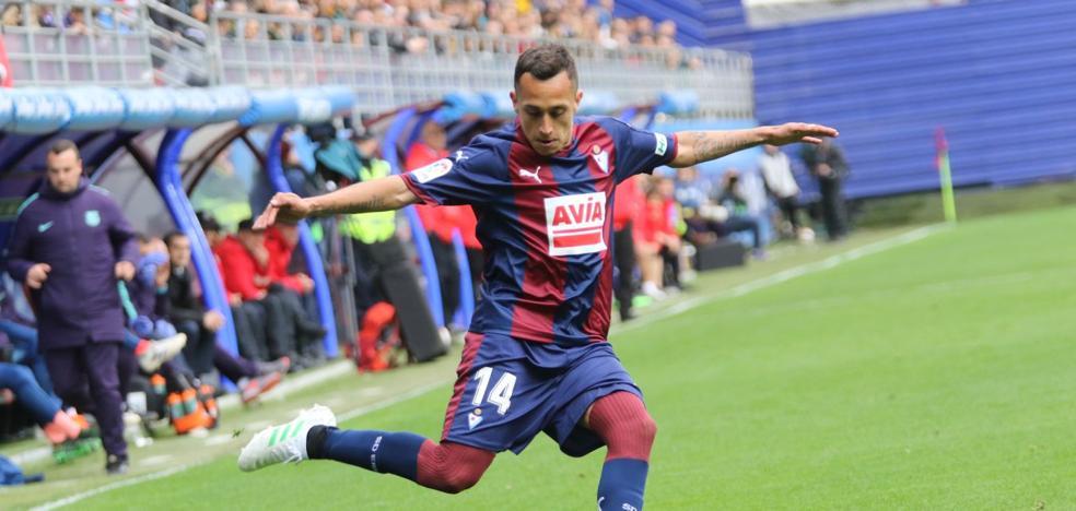 Uno a uno de los jugadores del Eibar frente al Barcelona