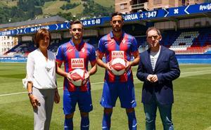 Burgos y Correa confían en su rápida adaptación al Eibar