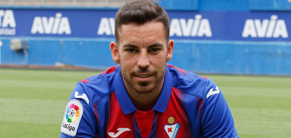 Edu Expósito: «Tuve claro que el Eibar era el equipo que más me convenía para dar el salto»