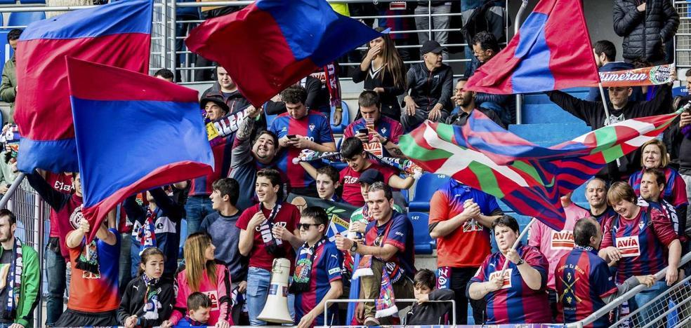 El Eibar alcanza la cifra de los 5.600 abonados