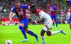 El Fortuna de Düsseldorf aprovecha el contragolpe para derrotar al Eibar