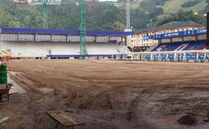 El Eibar probará el miércoles el nuevo césped de Ipurua
