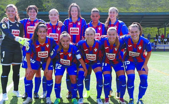 El primer equipo femenino no pudo estrenar la liga con un triunfo