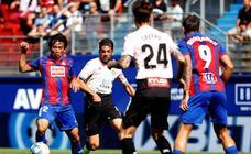 Las mejores imágenes del Eibar - Espanyol