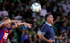 Mendilibar considera «bueno el punto», aunque les faltó «mejorar en ataque»