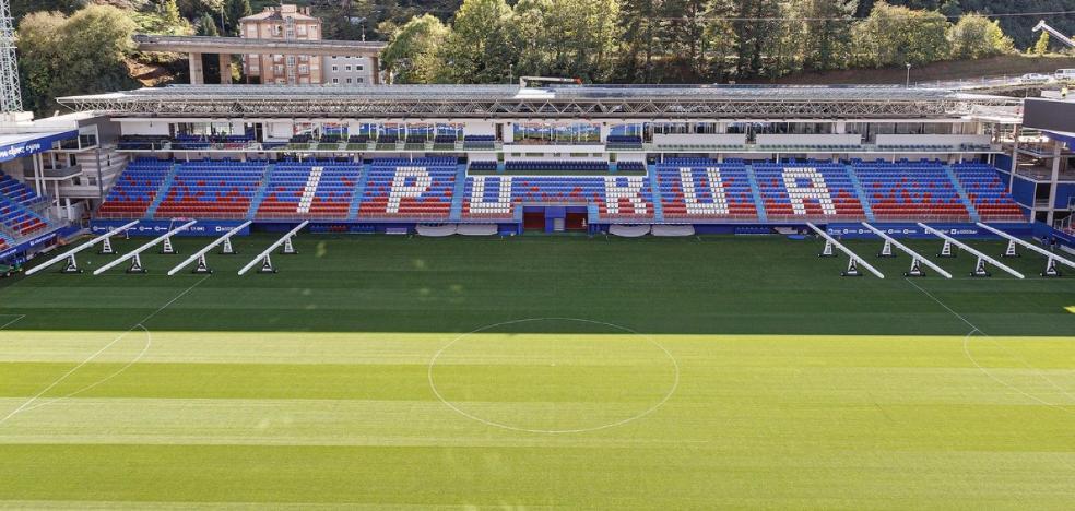 El Eibar centrará su trabajo en Ipurua antes de recibir al Barça