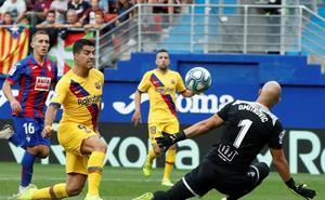 Uno a uno de los jugadores del Eibar frente el Barça
