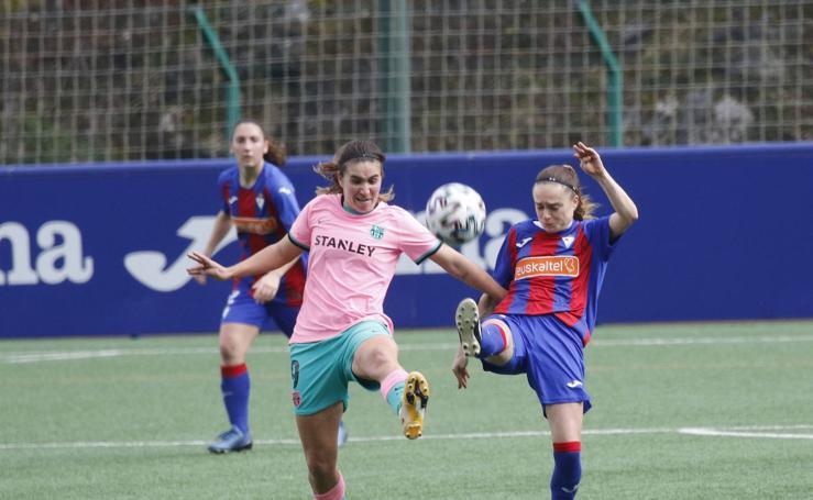 Derrota del Eibar (0-3) ante el líder Barcelona