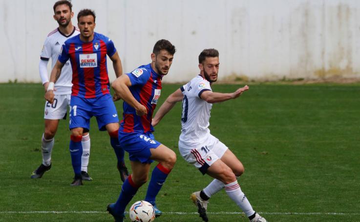 El Eibar empata a cero en su amistoso contra Osasuna