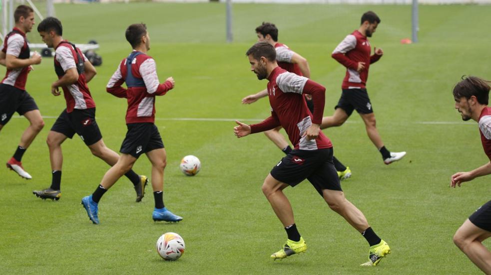El Eibar continúa con su preparación