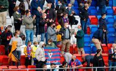 El Mirandés envía al Eibar 250 entradas a 25 euros cada una