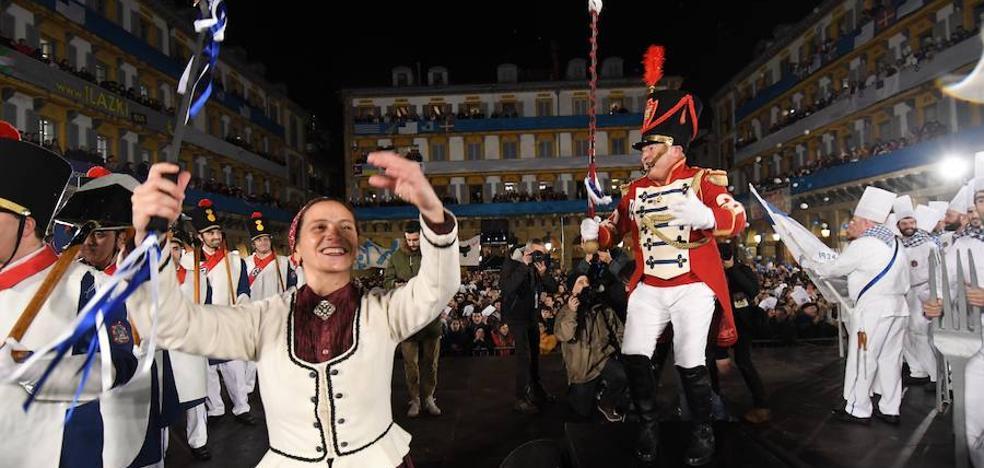 San Sebastián vive ya la tamborrada 2019