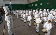 Los más txikis inician los festejos de la Tamborrada