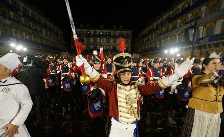Arriada de la bandera de San Sebastián