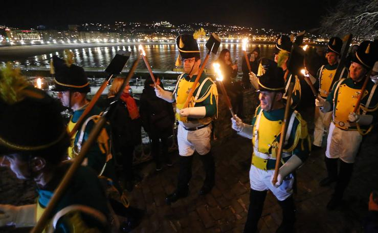 Ollagorra pone fuego a la noche de San Sebastián