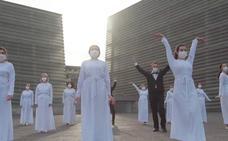 Avance: El Orfeón protagoniza el vídeo de la Tamborrada 2021