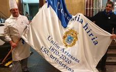 El Hospital Donostia recibirá la bandera de San Sebastián
