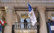 Goia colocará la bandera en la 'Consti' antes del toque de queda sin ceremonia ni público