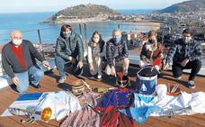 Donostia y sus protagonistas no se visten de fiesta