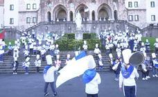 Redoble de tambores en los colegios de San Sebastián