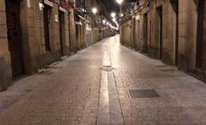 La noche de San Sebastián más silenciosa