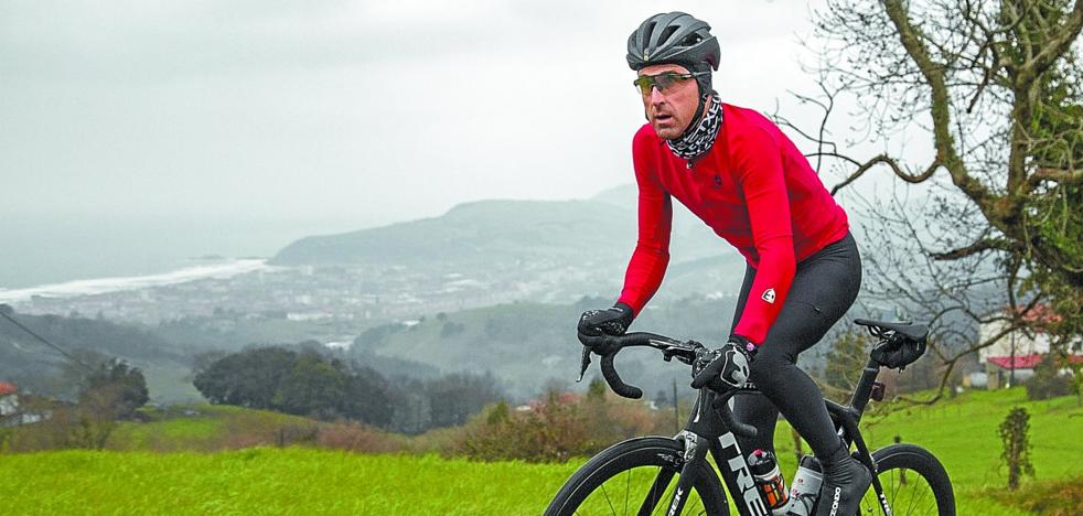 Haimar Zubeldia: «No se me ocurrió cuando era ciclista...»