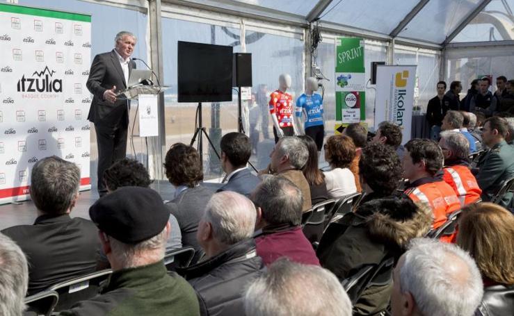 Presentación de la Vuelta al País Vasco 2018