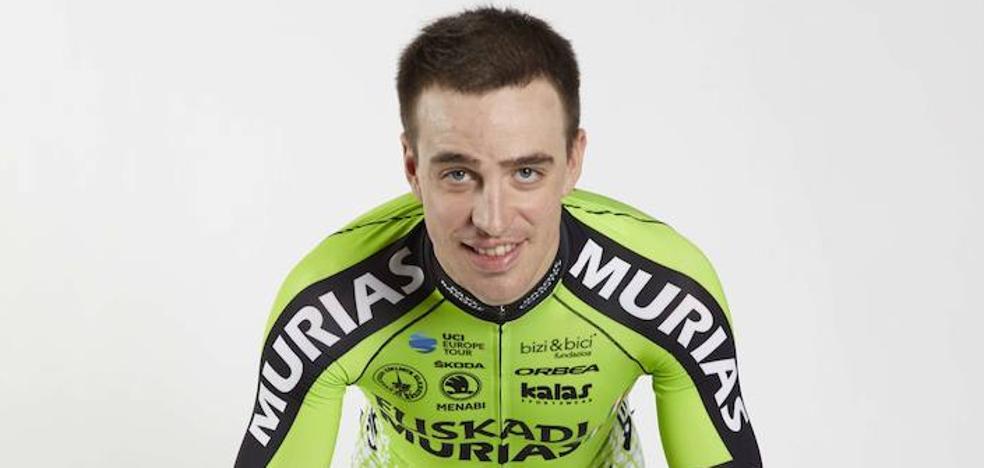 Aritz Bagües: «En la Vuelta al País Vasco hay que rendir sí o sí, porque somos el equipo de casa»