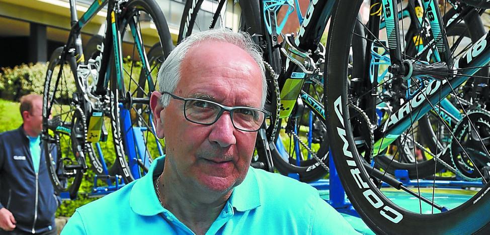 Giuseppe Martinelli (Director del Astana): «En mi historial faltauna carrera: el Girode Landa; lo pudoganar en el Mortirolo»