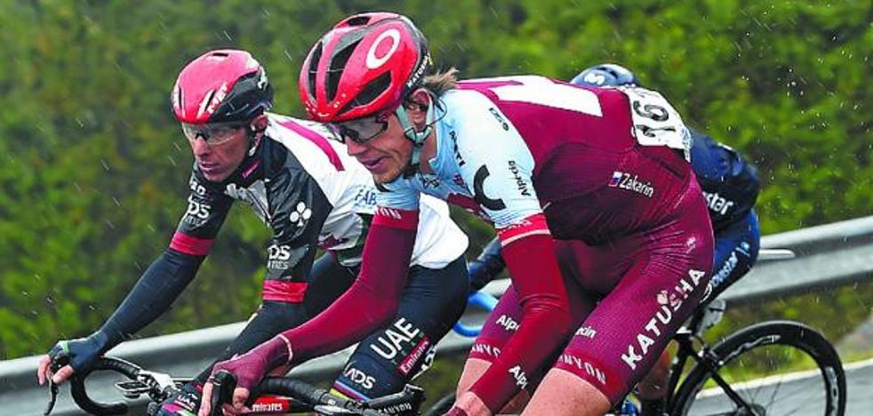 Mas gana, Landa emociona y Roglic regula en sexta etapa de la Vuelta al País Vasco