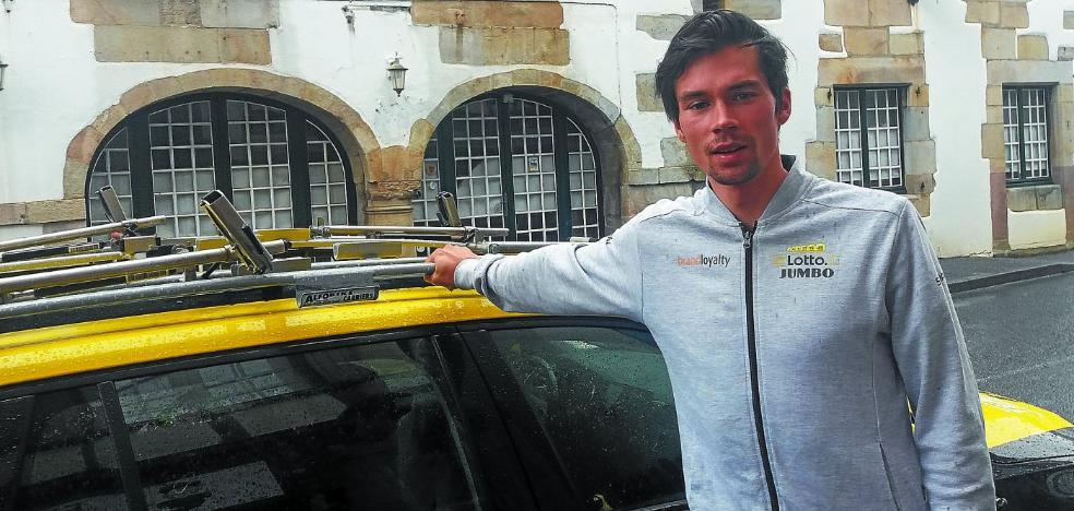 Roglic: «Quiero ganar la contrarreloj del Tour»