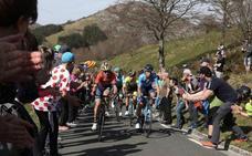 Clasificaciones de la etapa 3 de la Vuelta al País Vasco 2019: Sarriguren - Estibaliz