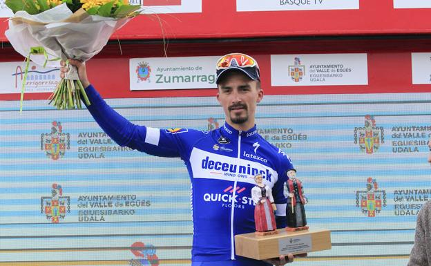 Alaphilippe: «Mi idea era ganar una etapa, no la general»