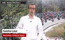 «La segunda etapa de la Itzulia tiene un final muy exigente, con un puerto con rampas de hasta el 14%»
